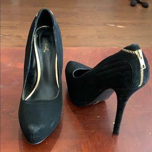 "Cupid 4"" platform heels"